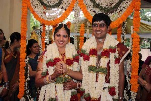 Suganya weds Nirmal